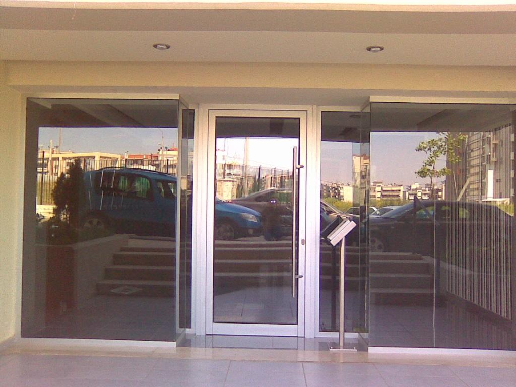 Είσοδος Οικοδομής Αλουμινίου _4