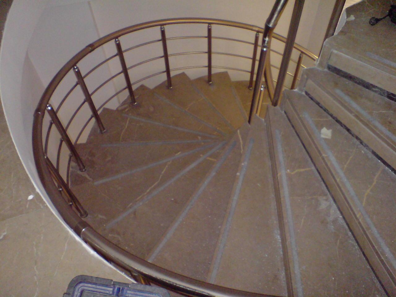 Κιγκλίδωμα σκάλας κοίλο